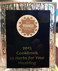 2015 NM AZ Awards Plaque - Cookbook category
